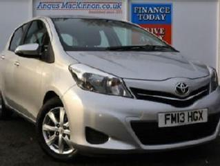 2013 13 TOYOTA YARIS 1.4 D 4D GREAT VALUE 5DR HATCHBACK WITH LOW ROAD TAX AND HI