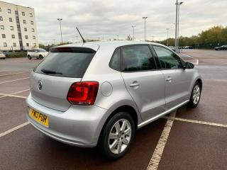 2013 13 VOLKSWAGEN POLO 1.2 SILVER MATCH EDITION 5DR 53K HPI CLEAR BARGAIN