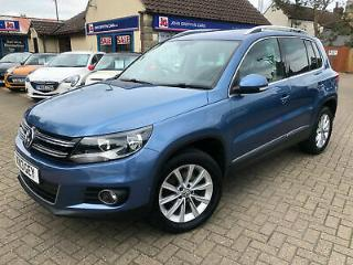 2013 13 Volkswagen Tiguan 2.0TDI 140ps 4WD BlueMotion Tech s/s SE