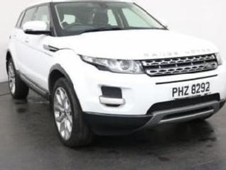 2013 62 LAND ROVER RANGE ROVER EVOQUE 2.2 ED4 PURE 2WD 5D 150 BHP HEATED LEATHER