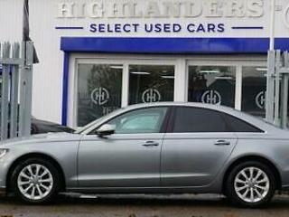 2013 63 AUDI A6 2.0 TDI SE 4D AUTO 175 BHP SAT NAV BUTTON START HEATED LEATHER D