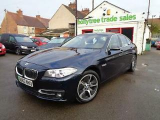 2013 63 BMW 520 Luxury 2.0 TD Automatic 520D 5 Series Full Service History EU6