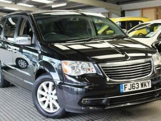 2013 63 CHRYSLER GRAND VOYAGER 2.8 CRD LIMITED 5D AUTO 178 BHP DIESEL