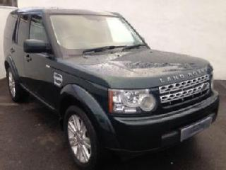 2013 63 LAND ROVER DISCOVERY 4 3.0 SDV6 COMMERCIAL AUTO 255 BHP AINTREE GREEN