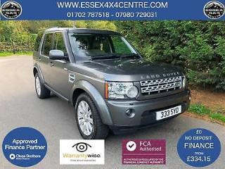 2013 63 LAND ROVER DISCOVERY 4 XS 3.0 SDV6 AUTOMATIC 4X4 7 SEATER 8 SPEED