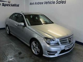2013 63 MERCEDES C200 CDI BLUEEFFICIENCY AMG SPORT 28,300 MILES