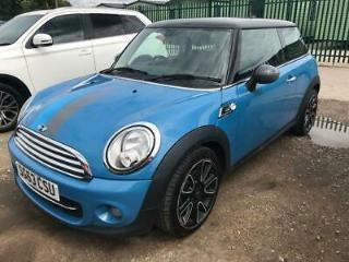 2013 63 MINI HATCH COOPER 1.6 COOPER BAYSWATER 3D 120 BHP LEATHER ONE OWNER FSH