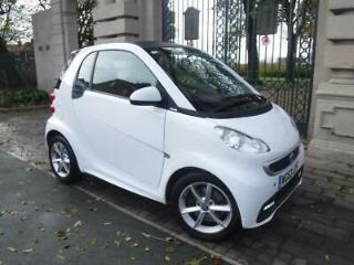 2013 63 SMART FORTWO 1.0 PULSE MHD 71 BHP WHITE PETROL AUTOMATIC £0TAX AIR CON