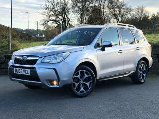 2013 63 SUBARU FORESTER XT 2.0 TURBO 240 LINEARTRONIC 4x4 1 OWNER WITH FSH