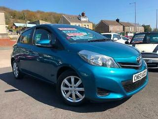 2013 63 Toyota Yaris 1.33 VVT i 99bhp Touch & Go TR Petrol 6 Speed Manual