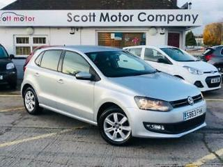 2013 63 VOLKSWAGEN POLO 1.2 MATCH EDITION 5 DOOR