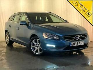 2013 63 VOLVO V60 SE AUTO SAT NAV LEATHER INTERIOR CRUISE CONTROL SVC HISTORY