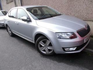 2013 63 Skoda Octavia 2.0TDI CR 150ps SE Silver Metallic
