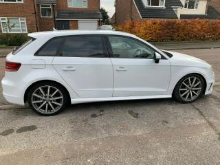 2013 Audi A3 1.6 TDI SE with S Line black edition Features 5dr