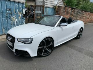 2013 AUDI A5 2.0 TDI S LINE SPECIAL EDITION CABRIOLET MULTI TRONIC RS5 REPLICA