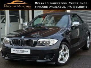 2013 BMW 118D EXCLUSIVE EDITION CONVERTIBLE BLACK