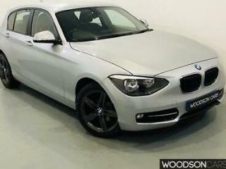 2013 BMW 120d Sport 5 Door Diesel Automatic in Silver with Bluetooth