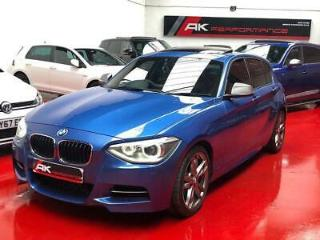 2013 BMW 1 Series 3.0 M135i Sports Auto 5dr RED LEATHER SUNROOF PRO SATNAV