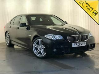 2013 BMW 520D M SPORT AUTO SAT NAV LEATHER HEATED SEATS SERVICE HISTORY
