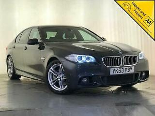 2013 BMW 520D M SPORT AUTO SAT NAV PARKING SENSORS HEATED SEATS SVC HISTORY