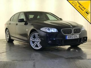 BMW 5 Series 2.0 520d M Sport 4dr LEATHER INTERIOR SAT NAV 2013, 76820 miles, £11000