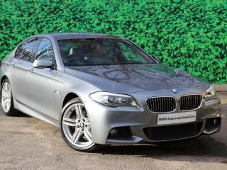 BMW 5 Series 535d M Sport Saloon Visibility package 2013, 52144 miles, £15995