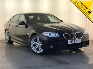 BMW 5 Series 2.0 520d M Sport 4dr HEATED SEATS SERVICE HISTORY 2013, 58890 miles, £11500