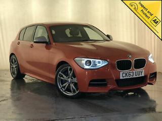 2013 BMW M135I AUTO LEATHER INTERIOR HEATED SEATS SAT NAV 1 OWNER SVC HISTORY