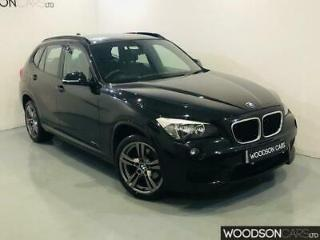 2013 BMW X1 2.0d SDrive18D M Sport Diesel in Black 1 Owner From New