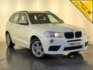 BMW X3 2.0 20d M Sport xDrive 5dr CRUISE CONTROL SERVICE HISTORY 2013, 56670 miles, £14000