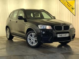 BMW X3 2.0 18d M Sport sDrive 5dr CREAM LEATHER CRUISE CONTROL 2013, 109450 miles, £8795