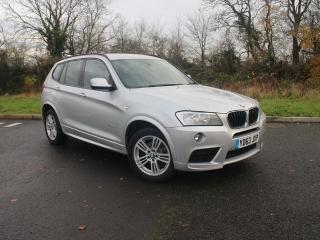 BMW X3 X3 xDrive20d M Sport Front and rear parking sensors 2013, 56127 miles, £14888