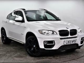 2013 BMW X6 XDRIVE30D Diesel white Automatic