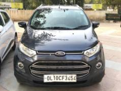 Grey 2013 Ford EcoSport Ambiente 1.5L TDCi 55000 kms driven in Rohini Sector 3
