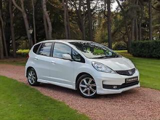 2013 Honda Jazz I VTEC SI STUNNING LOCAL PART EXCHANGE Petrol white Manual