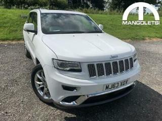 2013 Jeep Grand Cherokee 3.0 V6 CRD Summit Auto 4WD 5dr Diesel white Automatic