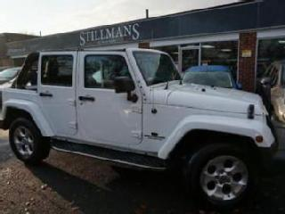 2013 Jeep Wrangler 2.8 CRD Overland Unlimited 4x4 4dr