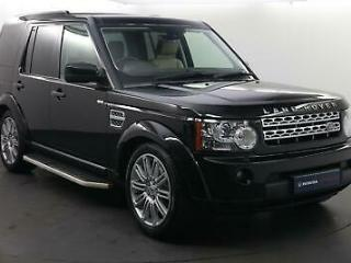 2013 Land Rover Discovery Discovery 4 3.0 SD V6 HSE 7 Seat Auto Diesel black Aut