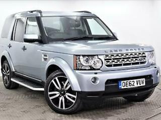 2013 Land Rover Discovery SDV6 HSE LUXURY Diesel silver Automatic