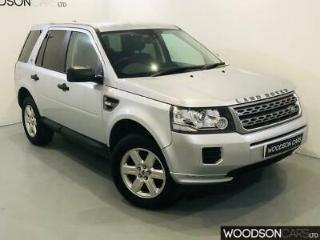 2013 Land Rover Freelander 2 2.2 TD4 GS in Silver with FULL LEATHER