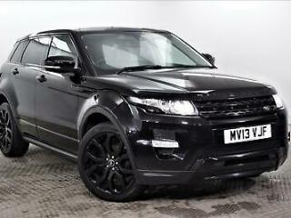 2013 Land Rover Range Rover Evoque SD4 DYNAMIC Diesel black Automatic