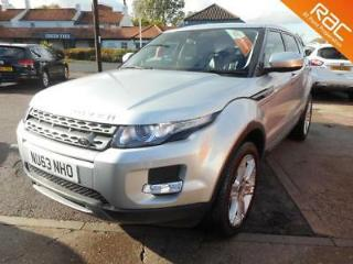 2013 LAND ROVER RANGE ROVER EVOQUE SD4 PURE 4WD FULL LAND ROVER HISTORY ESTATE