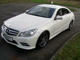 2013 MB Mercedes E250 Coupe Sport CDI Blue F 7G Tronic Automatic 101k miles