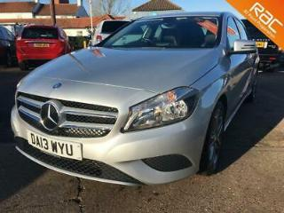 2013 MERCEDES A CLASS A180 BLUEEFFICIENCY SPORT FULL MERCEDES SERVICE HISTORY