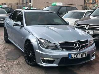 2013 MERCEDES BENZ C63 6.3 AMG 7G TRONIC AUTO EDITION 125 2 TONE LEATHERS 4 DOOR