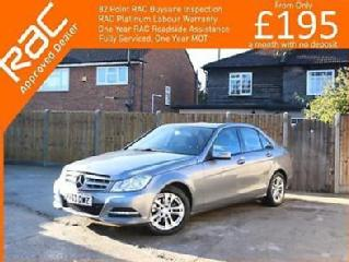 2013 Mercedes Benz C Class C180 Executive SE Blue Efficiency 7G Tronic Auto Sat