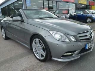 2013 Mercedes Benz E Class 2.1 E220 CDI BlueEFFICIENCY Sport Cabriolet G Tronic