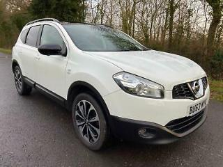 2013 Nissan Qashqai+2 1.5 dCi 360 7 Seater White Available from £50 Per Week