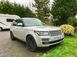 2013 Range Rover 4.4 SDV8 Diesel Autobiography Panoramic Roof, DVD's top spec !