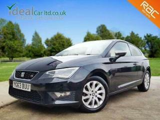 2013 SEAT Leon 2.0 TDI FR Tech Pack SportCoupe s/s 3dr